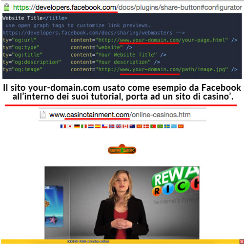 Casino su tutorial ufficiale Facebook